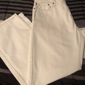 "Winter white jeans ""Denizen by Levi's.  NWOT"